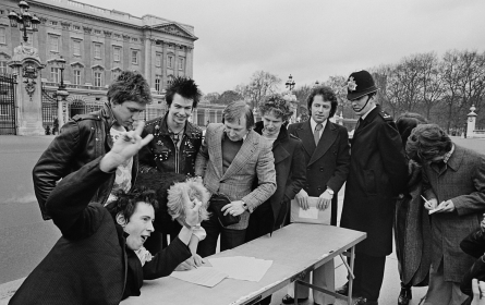 Sex Pistols Contract Signing 1977